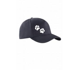 Czapka z łapkami psa - czapka z daszkiem - czapka dla miłośników psów